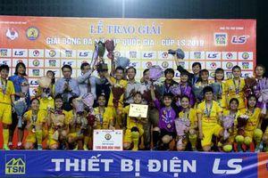 CLB Phong Phú Hà Nam vô địch Cúp quốc gia nữ 2019