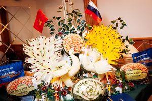 Chả giò tôm Bình Quới 'show' hàng ở thành phố cổ của Nga