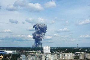 Nga mở cuộc điều tra hình sự sau 3 vụ nổ liên tiếp tại nhà máy thuốc nổ