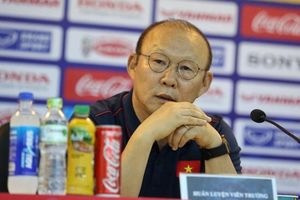 Huấn luyện viên Park Hang Seo: 'Tuyển Việt Nam không ngán đối thủ nào tại King's Cup'