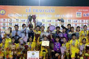 Phong Phú Hà Nam vô địch giải bóng đá nữ Cúp Quốc gia