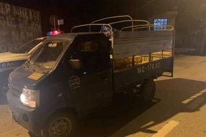 Quảng Ninh: Cả đêm đón đường bắt đối tượng trộm xe ô tô tải