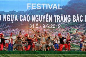 Khai mạc Festival Vó ngựa cao nguyên trắng Bắc Hà