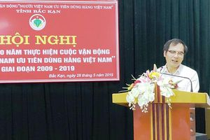 Bắc Kạn: Tổ chức Hội nghị Tổng kết 10 năm Cuộc vận động Người Việt Nam ưu tiên dùng hàng Việt Nam