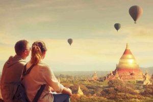 Ở Bagan, chỉ đám lá rụng ven đường cũng khiến lòng xao xuyến