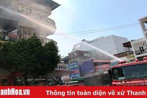 Đảm bảo an toàn phòng cháy và chữa cháy, cứu nạn, cứu hộ đối với nhà ở kết hợp sản xuất, kinh doanh trong các khu dân cư