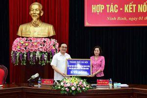 Hà Nội - Ninh Bình đẩy mạnh hợp tác phát triển toàn diện