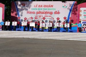 Hơn 40.000 chiến sĩ tham gia chiến dịch Hoa phượng đỏ năm 2019