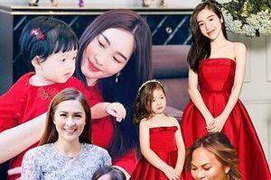 Ngất ngây với loạt đồ đôi 'mẹ nào con nấy' của sao Việt và mỹ nhân thế giới