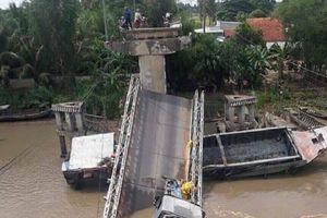 Sập cầu ở Đồng Tháp: Bộ trưởng GTVT chỉ đạo khẩn
