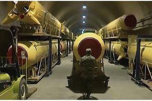 Iran hé lộ hầm sản xuất tên lửa dưới lòng đất