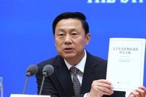 Bắc Kinh lạnh lùng tung Sách trắng về thương chiến Mỹ-Trung