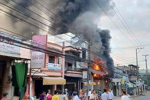 Cháy cửa hàng kinh doanh hàng điện tử tại Bến Tre