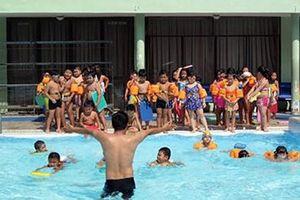 Phổ cập bơi để phòng chống đuối nước