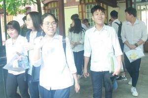 Nhiều thí sinh Hà Nội hoàn thành sớm bài thi Ngữ văn