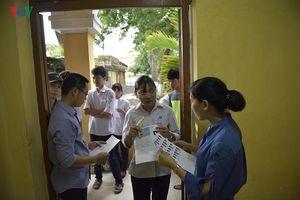Hà Nội có mưa trên diện rộng trong ngày đầu tiên kỳ thi tuyển sinh vào lớp 10
