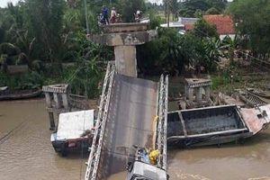 Vụ cầu BOT ở Đồng Tháp bị sập: Bộ trưởng GTVT chỉ đạo khẩn trương khắc phục