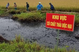 Hải Phòng: Lộ diện nghi phạm đổ trộm chất thải độc hại ra môi trường