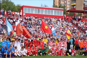 World Flags Junior Cup - cầu nối thắt chặt tình đoàn kết giữa các nước