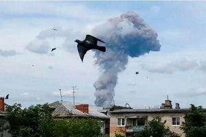 Nổ nhà máy sản xuất bom ở Nga, 85 người bị thương
