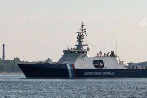 Đột nhập tàu tuần tra mới cứng của Cảnh sát Biển Nga