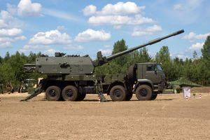 Pháo tự hành bánh lốp Koalitsiya-SV-KSh sẽ đánh bại CAESAR tại Việt Nam?