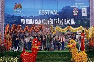 Lào Cai: Khai mạc Festival 'Vó ngựa cao nguyên trắng Bắc Hà' năm 2019