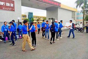 Đoàn thanh niên thị xã Sơn Tây triển khai tiếp sức mùa thi năm 2019