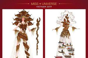 Chủ nhân của Cửu Long Giang - Miss Universe 2019 : Khi 'thần Rồng đạp mây' và giây phút thăng hoa để tạo nên bộ trang phục