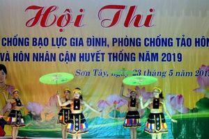 Quảng Ngãi: Hội thi tuyên truyền về phòng, chống bạo lực gia đình và tảo hôn