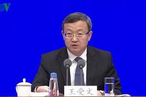 Trung Quốc công bố Sách trắng về đám phán thương mại Trung-Mỹ