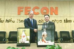 Tập đoàn Raito Kogyo (Nhật Bản) chính thức trở thành cổ đông lớn của FECON