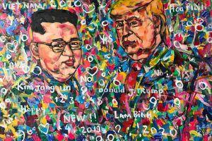 Nhờ 5 năm kiên trì vẽ Tổng thống Donald Trump, họa sỹ Việt được mời sang Ý