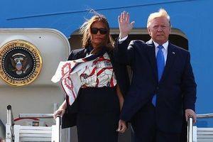 Tổng thống Trump đến Anh, bắt đầu lịch trình dày đặc 3 ngày
