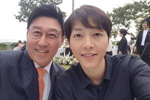Song Joong Ki và dàn sao hạng A dự cưới tài tử 'Hoàng hậu Ki'