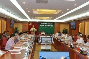 Thông cáo Báo chí Kỳ họp 36 của Ủy ban Kiểm tra Trung ương