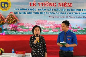 Tưởng niệm 45 năm cuộc thảm sát nữ tù chính trị tại Nhà lao Tân Hiệp