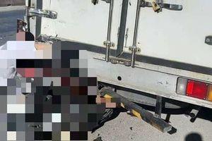 Tông đuôi xe tải chạy cùng chiều, người đàn ông tử vong thương tâm