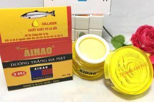 Kem trắng da Aihao, Gel trị mụn 10g bị thu hồi, chất lượng tệ thế nào?