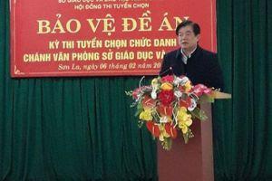 Đề nghị Ban Bí thư kỷ luật Giám đốc Sở GDĐT Sơn La
