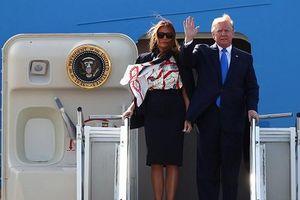 TT Donald Trump bắt đầu chuyến thăm Anh theo lời mời của Nữ hoàng