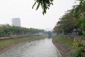 Nước sông Tô Lịch bớt mùi nồng nặc nhờ sử dụng công nghệ Nhật Bản
