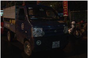 9x vừa trộm cắp xe ô tô tải thì 'đụng' ngay cảnh sát giao thông