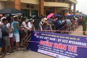 4.000 vé xem U23 Việt Nam đá Myanmar hết veo sau hơn 2 giờ mở bán
