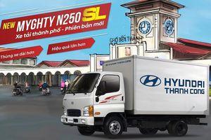 Hyundai New Mighty N250SL có giá từ 480 triệu đồng