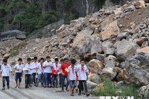 Ninh Bình: Người dân lo vì hoạt động khai thác đá gây mất an toàn