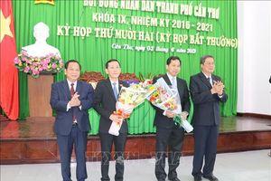 Ông Lê Quang Mạnh được bầu làm Chủ tịch UBND thành phố Cần Thơ