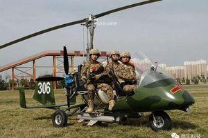 Phát hoảng với dàn trực thăng siêu nhẹ của đặc nhiệm Trung Quốc