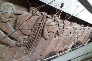 'Phát lộ' bức tường di sản mỹ thuật Đông Dương