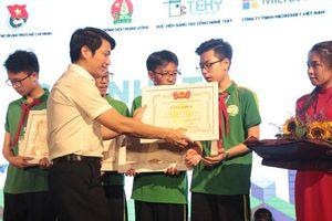 Chung kết Cuộc thi 'Em yêu khoa học - Tài năng công nghệ nhí'